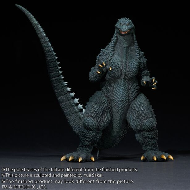 "Yuji Sakai Modeling collection Godzilla(2002) ""battle in the storm"""